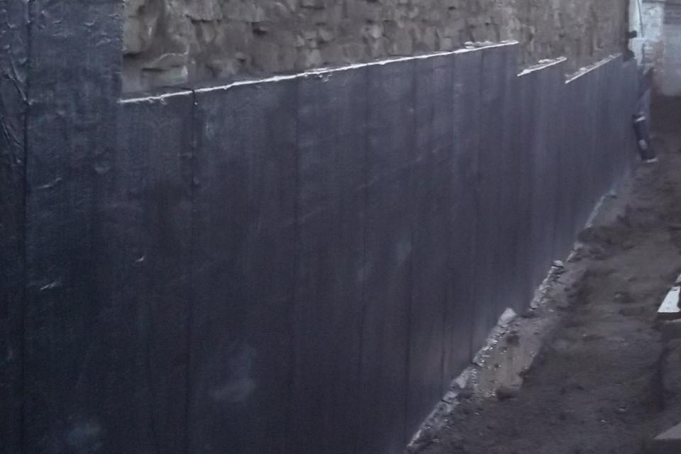waterproofing tanking membranes BS8102:2009